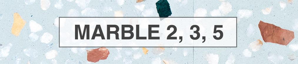 Terrazo marble 2, 3, 5
