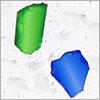 Marble 5, inclusioni decorative di cristallo