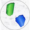 Marble 5, inclusiones decorativas de cristal