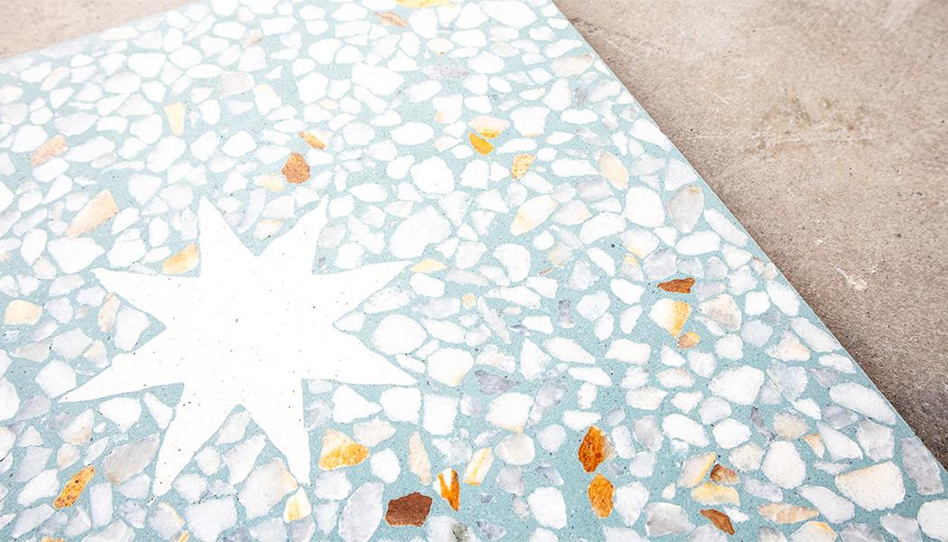 40x40 cm Terrazzo pattern tile, custom colours