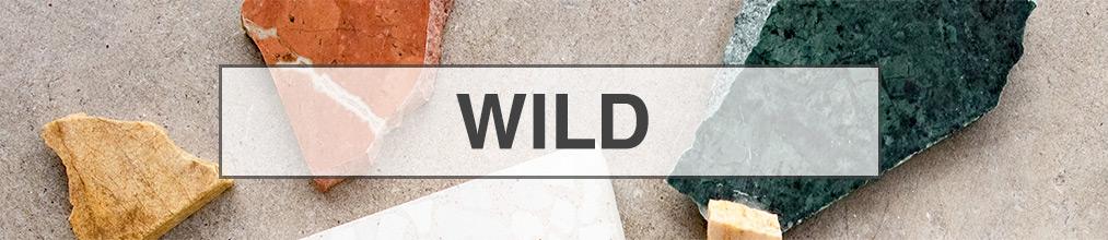 Terrazzo Wild, colores W1 y W2